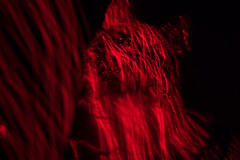 La Goulue 1 (IOxOI Photos) Tags: cat laser light painting lightpainting portrait abstract red goulue