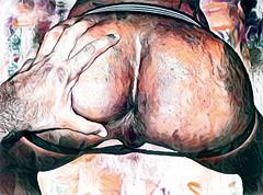 (primersuperyo) Tags: gay porn art ass hole dick fuck arte culo verga nalgas pene colage pornografía