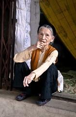 Elderly Woman, Hanoi (klauslang99) Tags: klauslang hanoi woman elderly person portrait