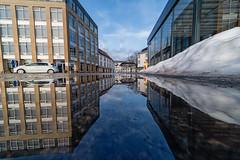 IMGP0167-Edit (jarle.kvam) Tags: reflection norway arendal pond speiling vanndam tyholmen