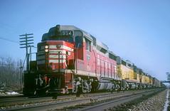 CB&Q GP30 954 (Chuck Zeiler48Q) Tags: cbq gp30 954 burlington railroad emd locomotive naperville train chuckzeiler chz