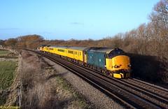 37610 Misterton 09-02-19 (benwheeler) Tags: 37610 37175 colas rail hnrc harry needle br 1q86 march down reception sidings derby rtc plpr1 network misterton