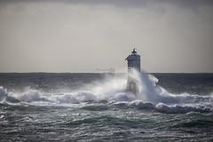 Faro Magiabarche - Calasetta (Daniele Sanna) Tags: faro mare sardegna calasetta mangiabarche onde vento tempesta maltempo sole sardinia lighthouse sea wave storm wind clouds