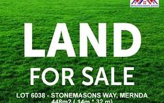 Lot 6038, Stonemasons Way, Mernda VIC