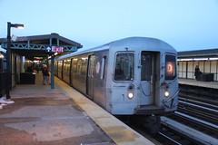 IMG_4345 (GojiMet86) Tags: mta bmt nyc new york city subway train 1986 r68 2626 50th street