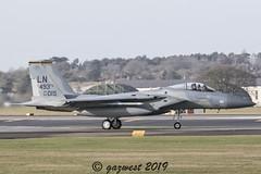 F-15C EAGLE 84-015 48th FW 493rd BOSS BIRD (Gaz West) Tags: f15c eagle 84015 48th fw 493rd boss bird