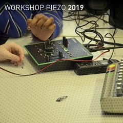 Workshop Piezo [2019] (Marc Wathieu) Tags: le75 soundart créationsonore educational brussels bruxelles woluwesaintlambert esale75 75 2018 20182019 cover sleeve