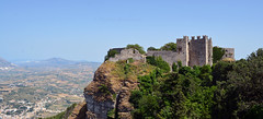 Erice castle (PhillMono) Tags: nikon d7100 sicily italy travel tourist history heritage architecture erice castle fort fortification fortress mountain vista