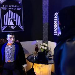 Hey Boss... (MaxxieJames) Tags: penguin oswald cobblepott dc dcu custom customised doll ooak ken barbie mattel gotham batman iceberg lounge