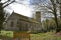 St Peter's church, Spexhall, Suffolk (series) (Kirkleyjohn) Tags: church spexhall stpetersspexhall spexhallchurch churchexterior flint flintwalls suffolk
