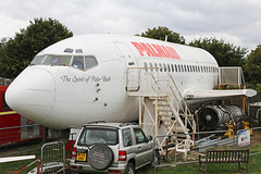 G-CEAH Boeing B737-229(A) Palmair Fuselage Bournemouth Aviation Museum 15th August 2018 (michael_hibbins) Tags: gceah boeing b737229a palmair fuselage bournemouth aviation museum 15th august 2018 g british britain uk united kingdom england english europe european wreck relic withdrawn from use