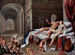 IMG_1161D Carlo Saraceni  1579-1620 Venice  Venus and Mars  1660 Madrid Thyssen-Bornemysza. (jean louis mazieres) Tags: peintres peintures painting musée museum museo españa espagne spain madrid muséethyssenbornemisza