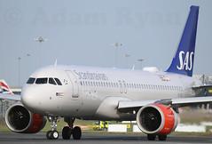 EI-SIC - SAS Scandinavian Airlines Ireland A320 NEO (✈ Adam_Ryan ✈) Tags: dub eidw n dublin airport sas neo a320 sasireland eisic