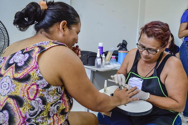 Ação para as mulheres na USF Encanto da Serra