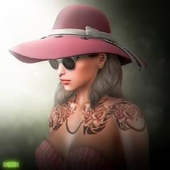 BONDI . The Traveler (Manu Wrydan (BONDI owner)) Tags: bondi new release hat cute tlc event spring fashion accesory woman cool original mesh second life