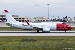 Norwegian Boeing 737-8JP  |  EI-FHD  |  LMML (Melvin Debono) Tags: norwegian boeing 7378jp | eifhd lmml cn 39011 melvin debono spotting canon eos 5d mark iv plane planes photography airport airplane aircraft malta mla