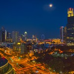 Singapore city view at night thumbnail