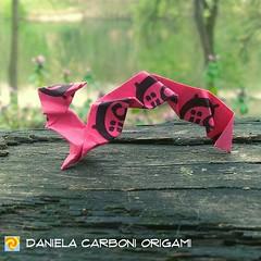 """Scoiattolo""  Creato ieri. Cartoncino ""-5!"" delle cartine da sigaretta. ---------------------------------------- ""Squirrell""  Created yesterday. Rolling paper ""-5!"" ticket.  #origami #cartapiegata #paperfolding #papiroflexia  #paper #paperart #createdandf (Nocciola_) Tags: paperart squirrel cartapiegata createdandfolded papiroflexia paperfolding originaldesign danielacarboniorigami paper scoiattolo origami"