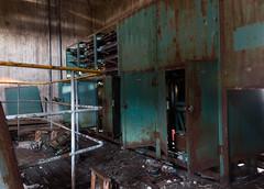 Gruvlavar (islandmountain UE) Tags: ue urbanexploration urbex rurex ruralexploration gruva gruvlave mine headframe abandoned tower torn lave övergivet ödehus decay förfall