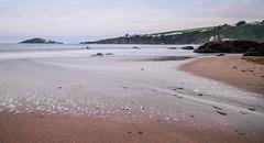 35 (1 of 1) (NikNak Allen) Tags: bantham bigbury devon burghisland island beach sand rocks tide shore shoreline water sea ocean longexposure cliffs low early morning view look horizon waves smooth patterns seascape