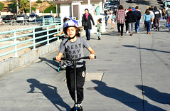 best day ever (greenelent) Tags: boy scooter people manhattanbeach pier 365 photoaday ca california