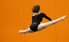 Floor exercise (stephencharlesjames) Tags: gymnastics high school sports girls sport action middlebury vermont