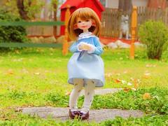 Little Blue Alien (Forest_Daughter) Tags: dustofdolls dust dolls appi cota appicota bjd balljointed doll artistbjd artistdoll
