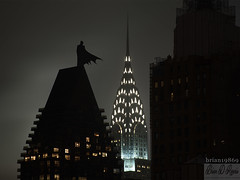 The Dark Knight (Brian D' Rozario) Tags: brian19869 briandrozario nikon d750 chryslerbuilding nyc newyorkcity urban urbex night thedarkknight darkknight batman spire tower manhattan rooftop overseer surveillance overwatch legend dc dccomics