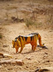Tiger (Rohit KO) Tags: rohit ko photography tiger wildlife paper papercraft paperfolding origami hideo komatsu mulberry orange yellow black tissue striped