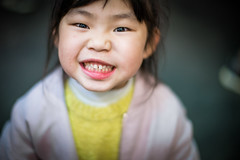 My daughter. (CasaDeAM) Tags: sigma mc11 sonya9 canon 50mm lowlight portrait taiwan girl