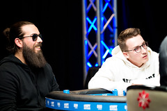 Cyprien Chassagne and Gabriele Re (World Poker Tour) Tags: 888poker wptds malta world poker tour deepstacks final table day 3