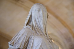 The Louvre - Paris - Veiled Lady (sarowen) Tags: theveiledlady femmevoilee antoniocorradini sculp france thelouvre louvremuseum muséedulouvre paris parisfrance