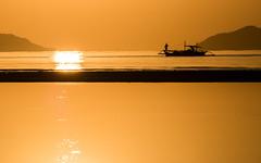 Sunrise at Nacpan beach