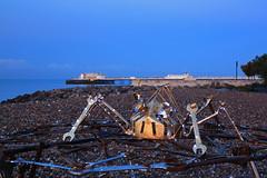 2018_09_15_0019 (EJ Bergin) Tags: sussex westsussex landscape worthing beach seaside lightfestival artonthebeach sunrise worthingpier