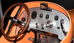 1930 Duesenberg 2 Man Racer Model A Dashboard (ksblack99) Tags: duesenberg 1930 racer taxicab automobile classiccar gilmorecarmuseum hickorycorners michigan dashboard