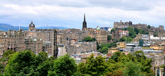 "Edinburgh's ""Old town"" (M McBey) Tags: edinburgh buildings city cityscape trees royalmile history castle"