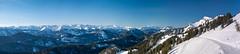 Alpine Panorama (bayernphoto) Tags: bayern bavaria winter alpen schnee eis sonnig warm kalt brauneck wetterstein zugspitze alpspitze guffert unnuetz fernblick rofan weitblick view oberbayern ski fahren schi huette sport wintersport skiing downhill berg mountain alpine panorama pano panoramic skigebiet