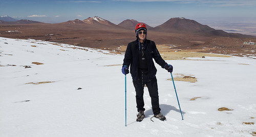Cerro Toco (Stratovolcano - 5.604m or 18,386 ft), the Purico Complex, the Atacama desert, Antofagasta, Chile.