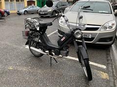 Jawa Moped (firehouse.ie) Tags: scooters transportation transport countycork charleville ireland motorcycle scooter mopeds moped bikes bike jawas jawa
