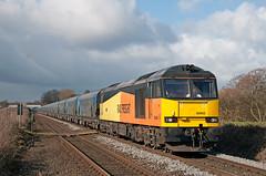 60002, Lostock (UK), 11/03/19 (bontybermo402) Tags: 60002 6e09 liverpool bulk terminal drax power station gbrf colas tempest iia
