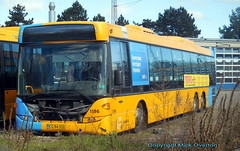 Defective since early January - 2012 Scania Omnilink ARRIVA 1186 has now started lending parts to other buses (sms88aec) Tags: defective since early january 2012 scania omnilink arriva 1186 has now started lending parts other buses