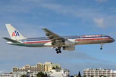 American B757-223 N634AA SXM 26/12/2007 (jordi757) Tags: avions nikon d300 sxm tncm sintmaarten saintmartin stmartin airplanes boeing 757 boeing757 b757 b757200 american n634aa