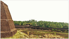 """Travel makes one modest. You see what a tiny place you occupy in the world."" (Ramalakshmi Rajan) Tags: kerala keralatourism travel india bekal bekalfort nikon nikond5000 nikkor18140mm"