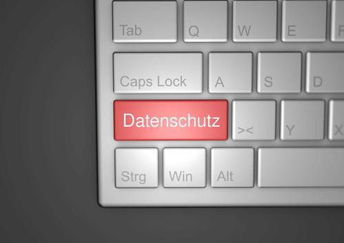 Datenschutz-auf-Tastatur