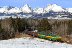 131-067/068 (Andrzej Szafoni) Tags: 131 131067 131068 zssk cargo train railroad locomotive electric škoda 58e2 słowacja slovakia