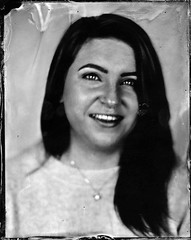 Lou G. (fitzhughfella) Tags: tintype tinplate wetplate collodion silvernitrate ether largeformat 5x4 darkroom graflexspeedgraphic kodakaeroektar