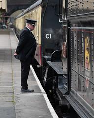_1008729 (Stephen.Bingham) Tags: gloucestershirewarwickshiresteamrailway dinmoremanor dcg9 steamlocomotive steamengine ccbysa creativecommons attributionsharealike stationmaster gwsr