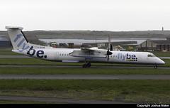 Flybe Bombardier Dash-8 Q402 G-ECOM @ Isle of Man Airport (EGNS/IOM) (Joshua_Risker) Tags: isle man egns iom airport plane aviation avgeek ronaldsway flybe bombardier dash dash8 q400 q402 dh8d gecom