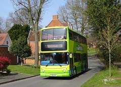 The Green Bus Dennis Trident 2/Alexander ALX400 118 (YN51 KVE) (Liam1419) Tags: yn51kve 118 alexanderalx400 dennistrident2 thegreenbus
