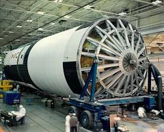 #TBT: S-IC-T Arrives at Marshall – April 9, 1967 (NASA's Marshall Space Flight Center) Tags: nasa marshall space flight center msfc michoud assembly facility saturn v apollo